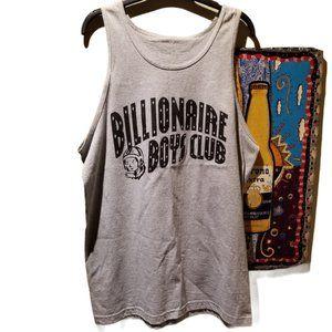 BILLIONAIRE BOYS CLUB Mens Grey Tanktop (Size L)